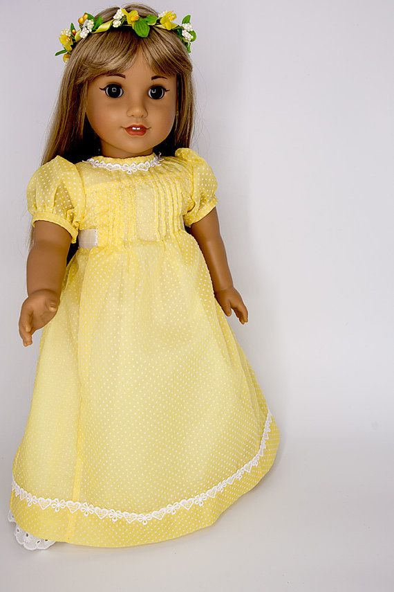 """American Girl Doll Journey Our Generation 18/"""" Dolls Clothes Yellow Glitter Shoes"""