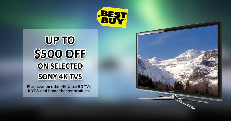 Save Up To 500 On Select Sony 4k Tvs On Bestbuy Electronic Lcd Tech Ultrahd Theater Tvs Cool Things To Buy Best Buy Coupons 4k Ultra Hd Tvs