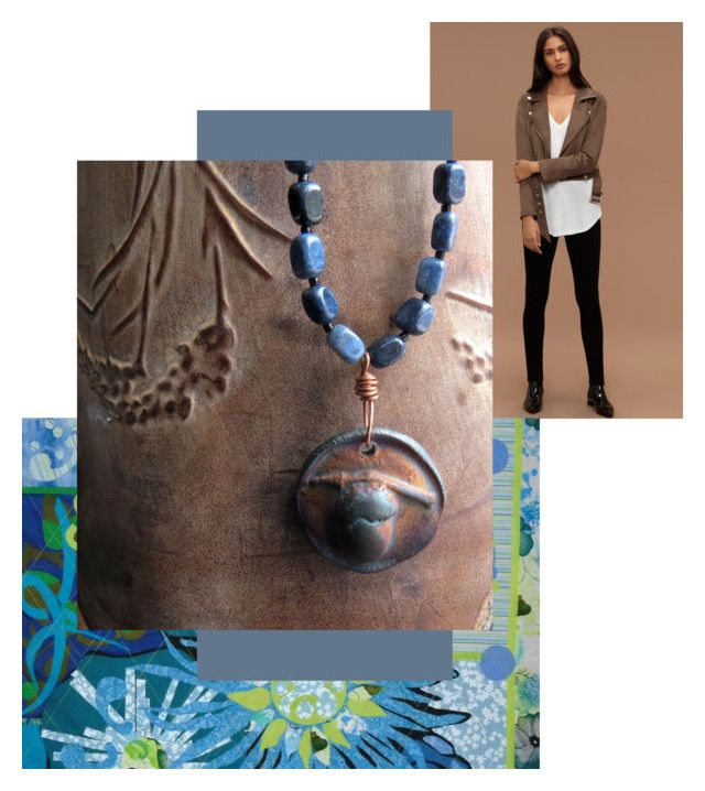 """""""Today's Perfect Necklace"""" by knotchacha ❤ liked on Polyvore featuring WALL"""