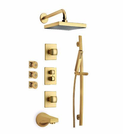 Latoscana Lady Thermostatic Valve With 3 4 Shower Faucet Shower