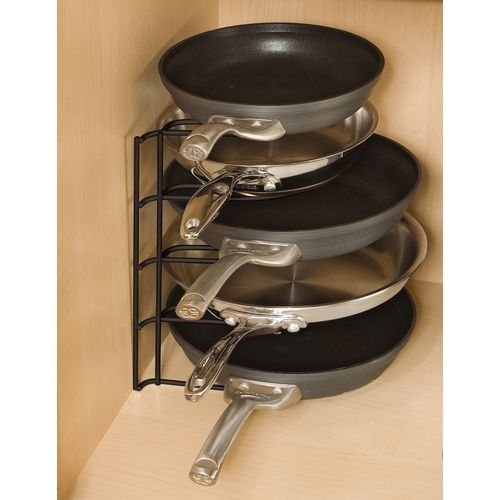 Rubbermaid Metal Pan Organizer from Lowes.
