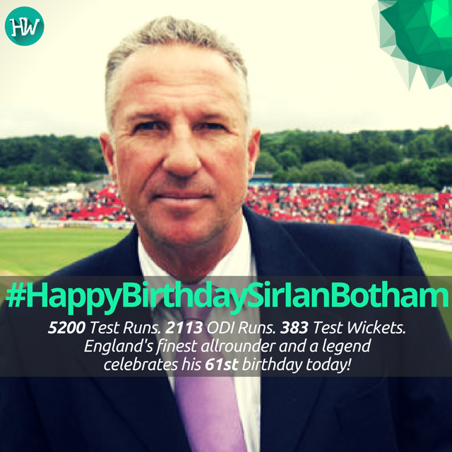 #HappyBirthdaySirIanBotham, an English icon and one of the finest allrounders of all time! #cricket #ENG