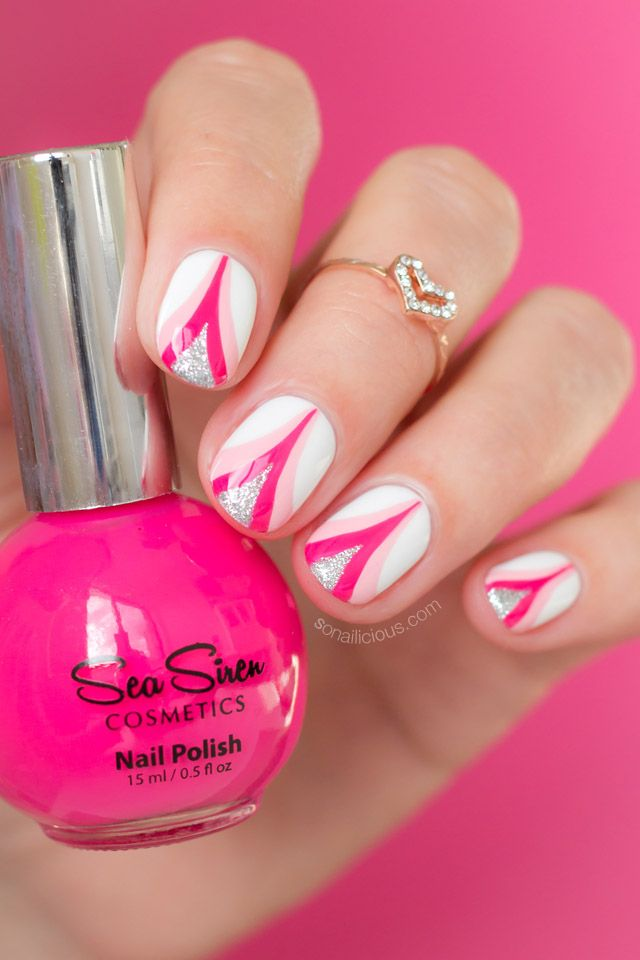 Pink Ribbon Nail Art. Plus, An Important Message | Sirens, Breast ...