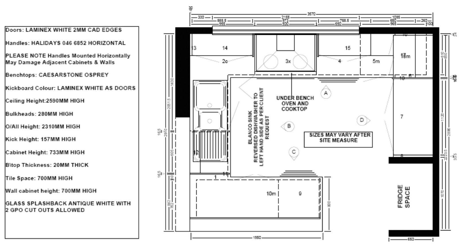 Kitchen. Smart Design Modern Galley Kitchen Layout  Kitchen Floor ...