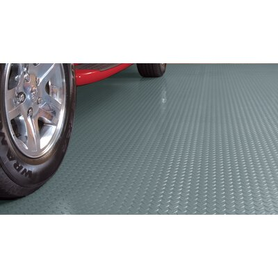 G Floor Diamond Tread 8 5 Ft X 24 Ft Garage Flooring Roll Wayfair Garage Floor G Floor Floor Coverings