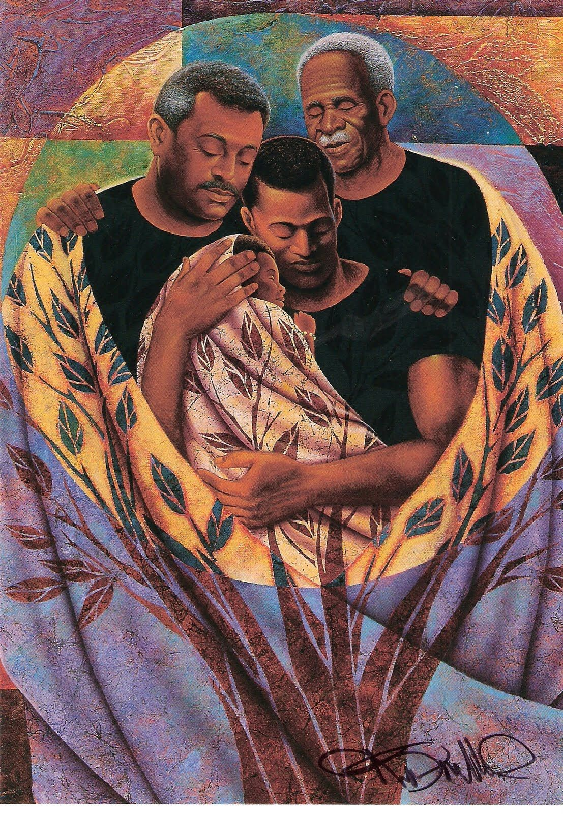 Keith Mallett (b.1948) — Strong Roots (1107x1600) | Parents and ...