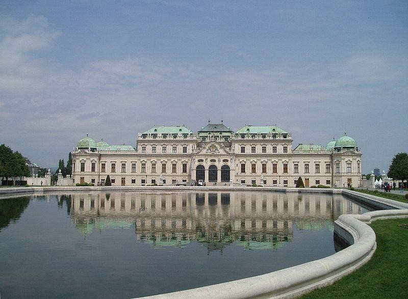 Osterreichische Galerie Belvedere Complesso Museale Viennese Situato Nel Castello Belvedere Palazzo Del Xviii Sec Costituito Walking Tour Vienna Gpsmycity