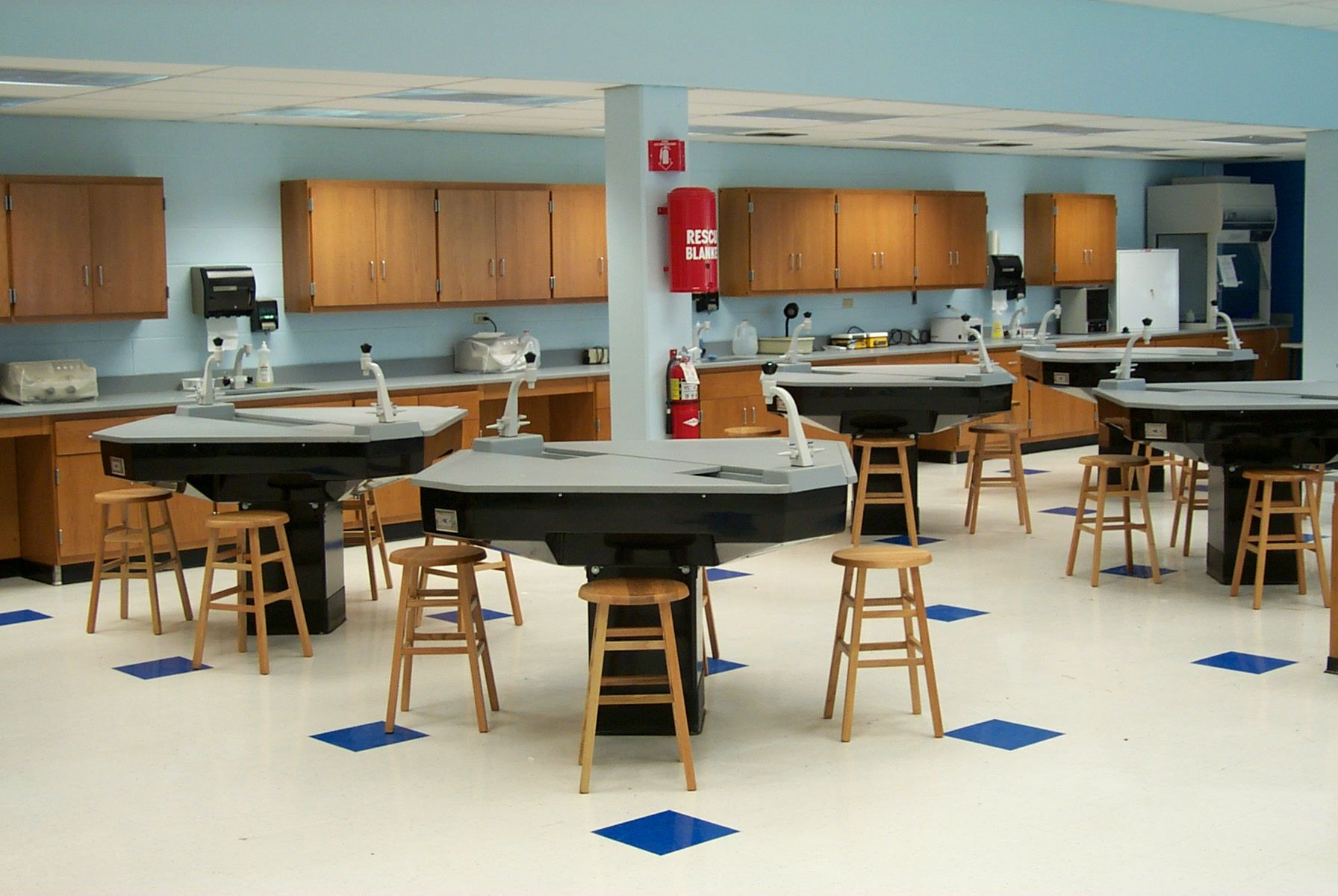 Modern Science Classroom ~ Science lab tables new school ideas pinterest labs