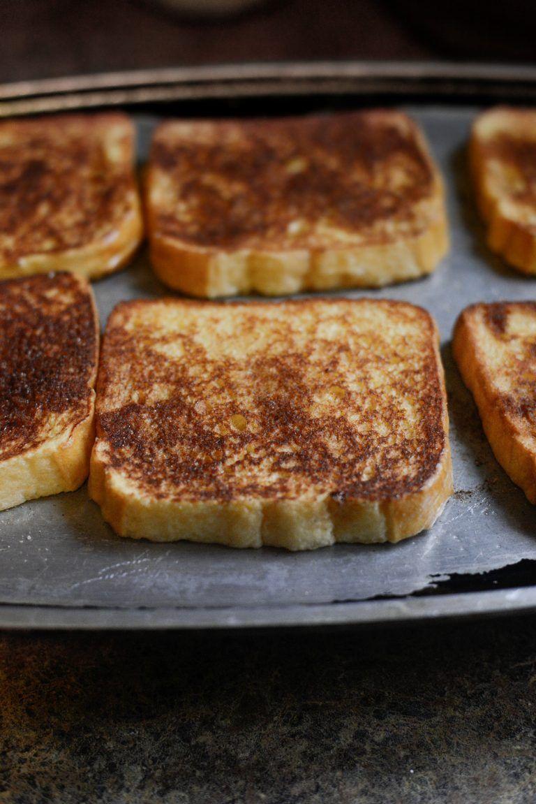 Cinnamon Sugar Crusted French Toast   Recipe   Cinnamon ...