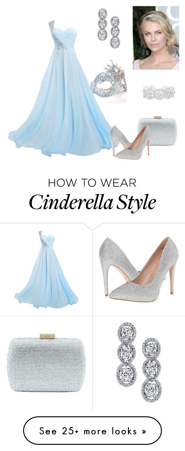 """Cinderella prom"" by evannahjoy on Polyvore featuring Serpui, Lauren Lorraine, Harry Kotlar, Masquerade and Slate & Willow"