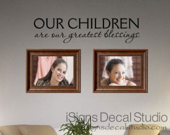 Family Wall Decal A Moment In Time Changed by iSignsDecalStudio