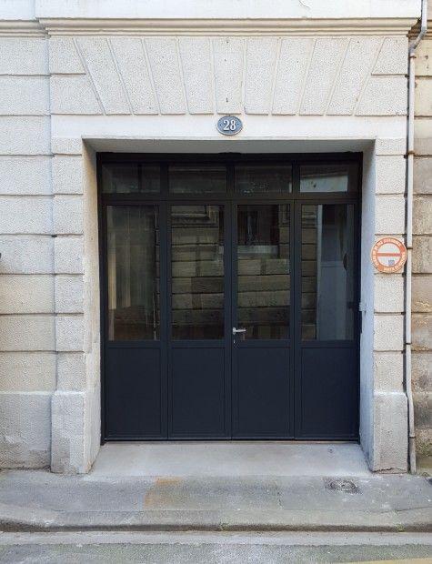 Menuiserie Acier Tradiligne Fenêtre Verriere Cloison En Acier