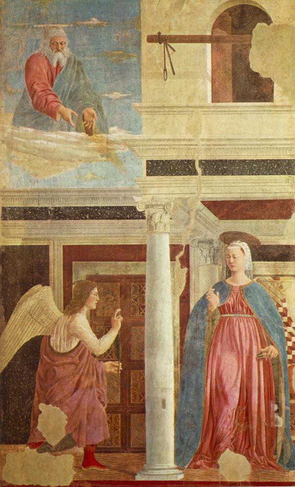 PIERO della FRANCESCA - Annunciation | Art, Renaissance ...
