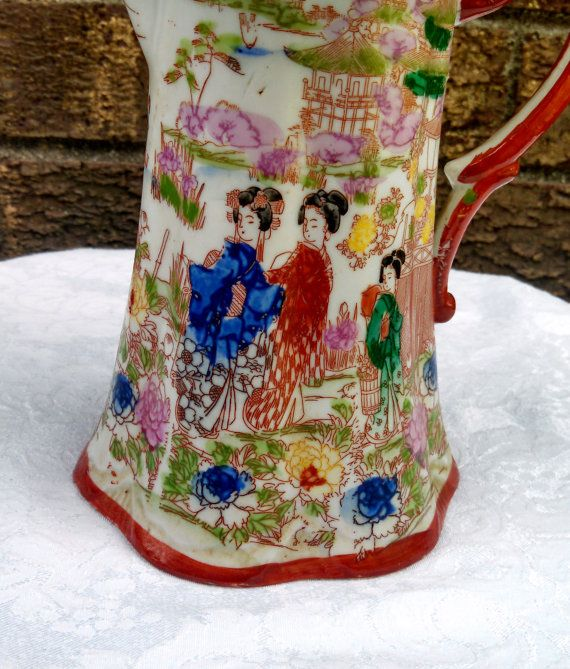 Vintage 1930s Japanese Hand-Painted Porcelain by AnchorLineVintage