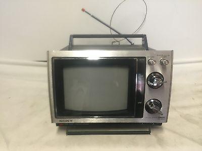 Rare Vintage Sony Trinitron Portable Model Kv 8000 Color Tv Monitor Crt