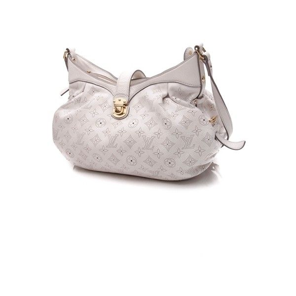 Pre Owned Louis Vuitton White Mahina Leather Xs Crossbody Bag 1 077 Liked