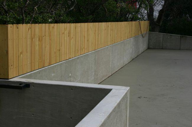 Pour A Concrete Retaining Wall Google Search Concrete