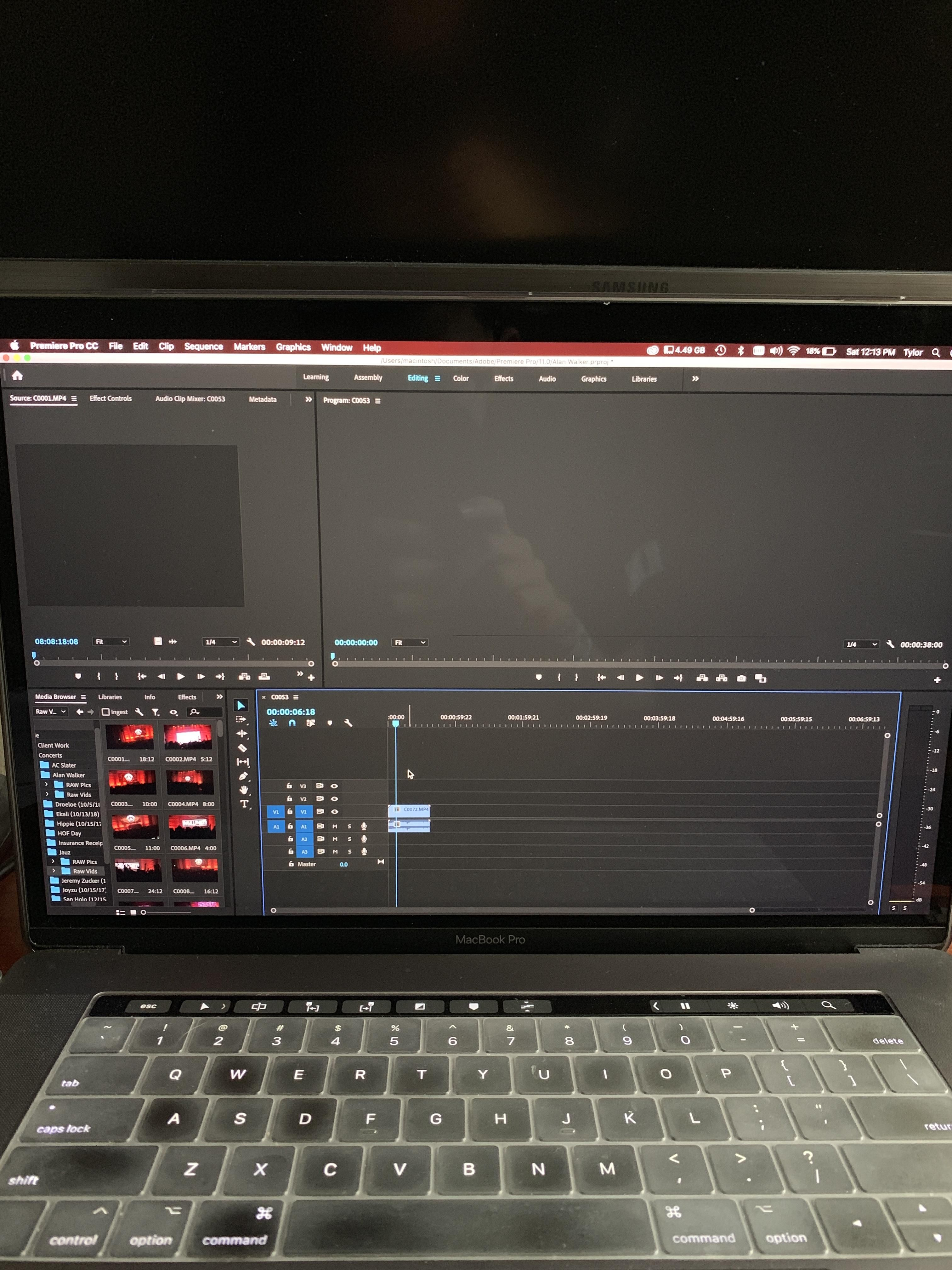 Help! Premiere Pro 2019 not displaying video. Using