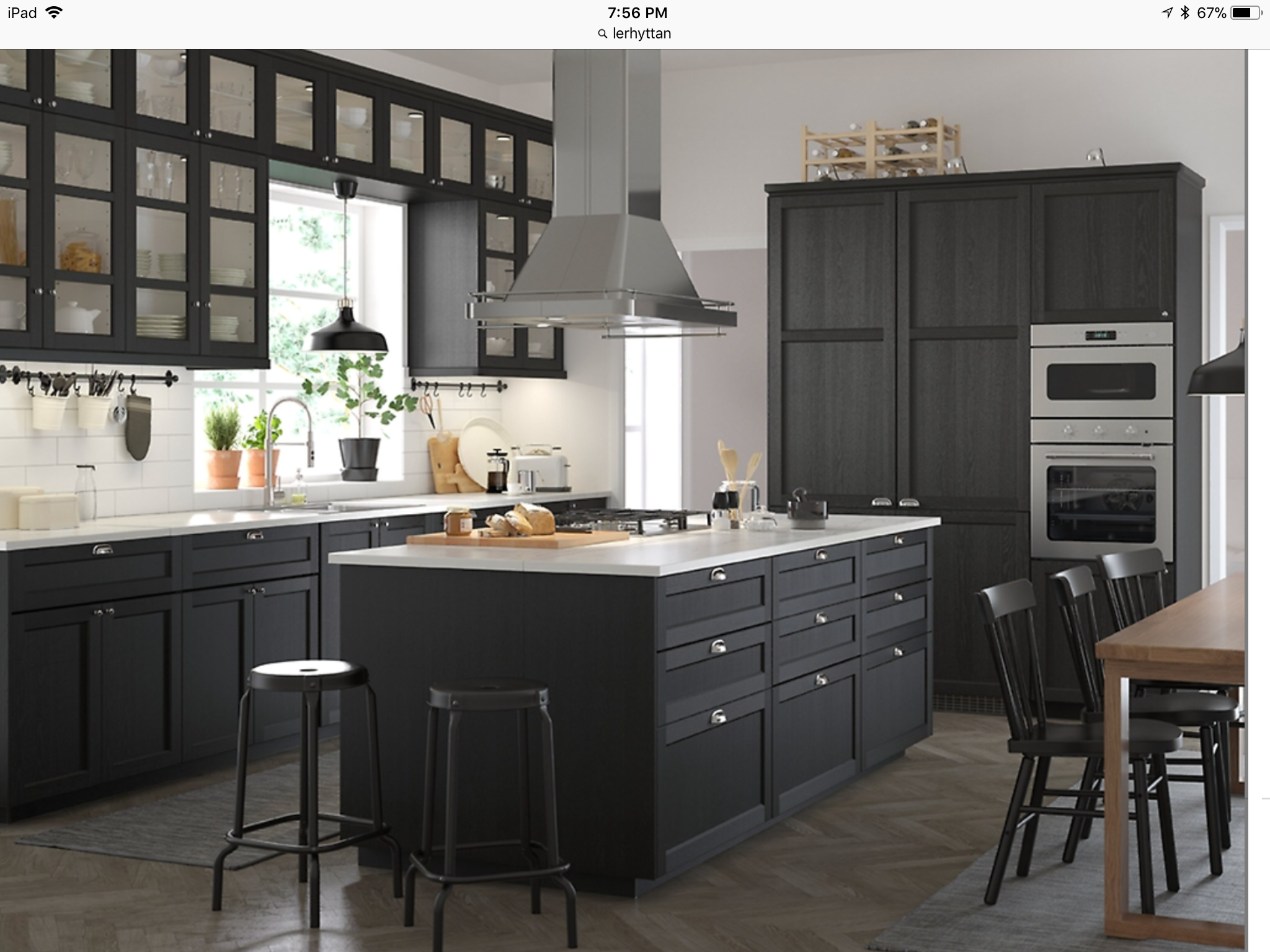 Best Lerhyttan Ikea Ikea Kitchen Inspiration Kitchen 400 x 300