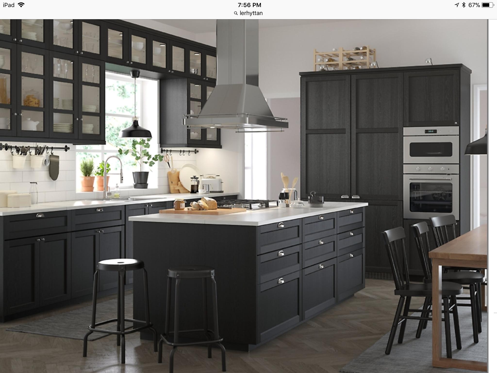 Best Lerhyttan Ikea Ikea Kitchen Inspiration Kitchen 640 x 480