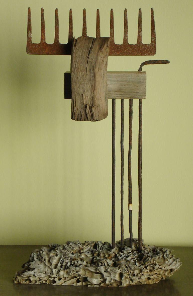 Neue alte Sachen. Moderne Kunst von Oriol Cabrero #spinnennetzbasteln