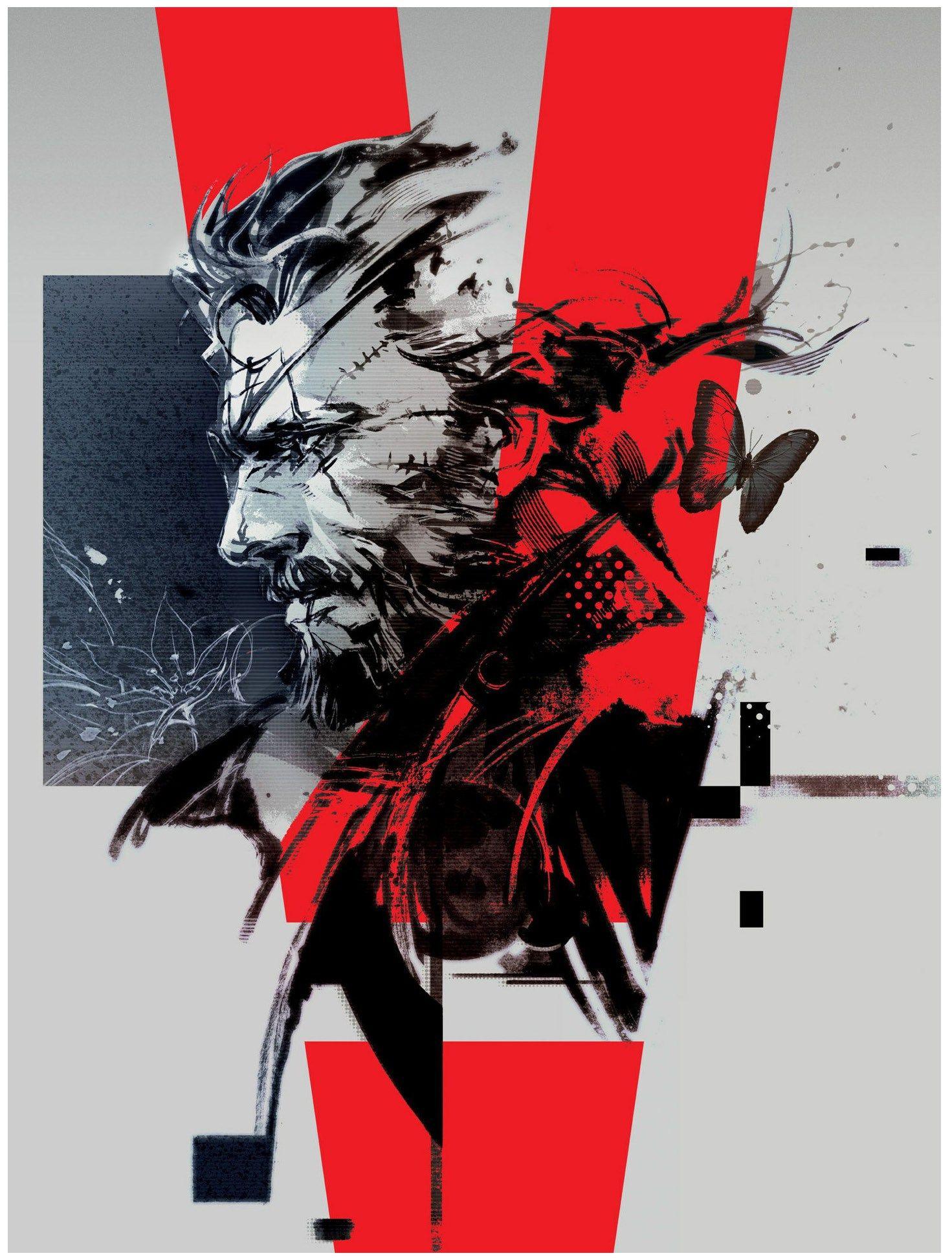 Pin On Metal Gear