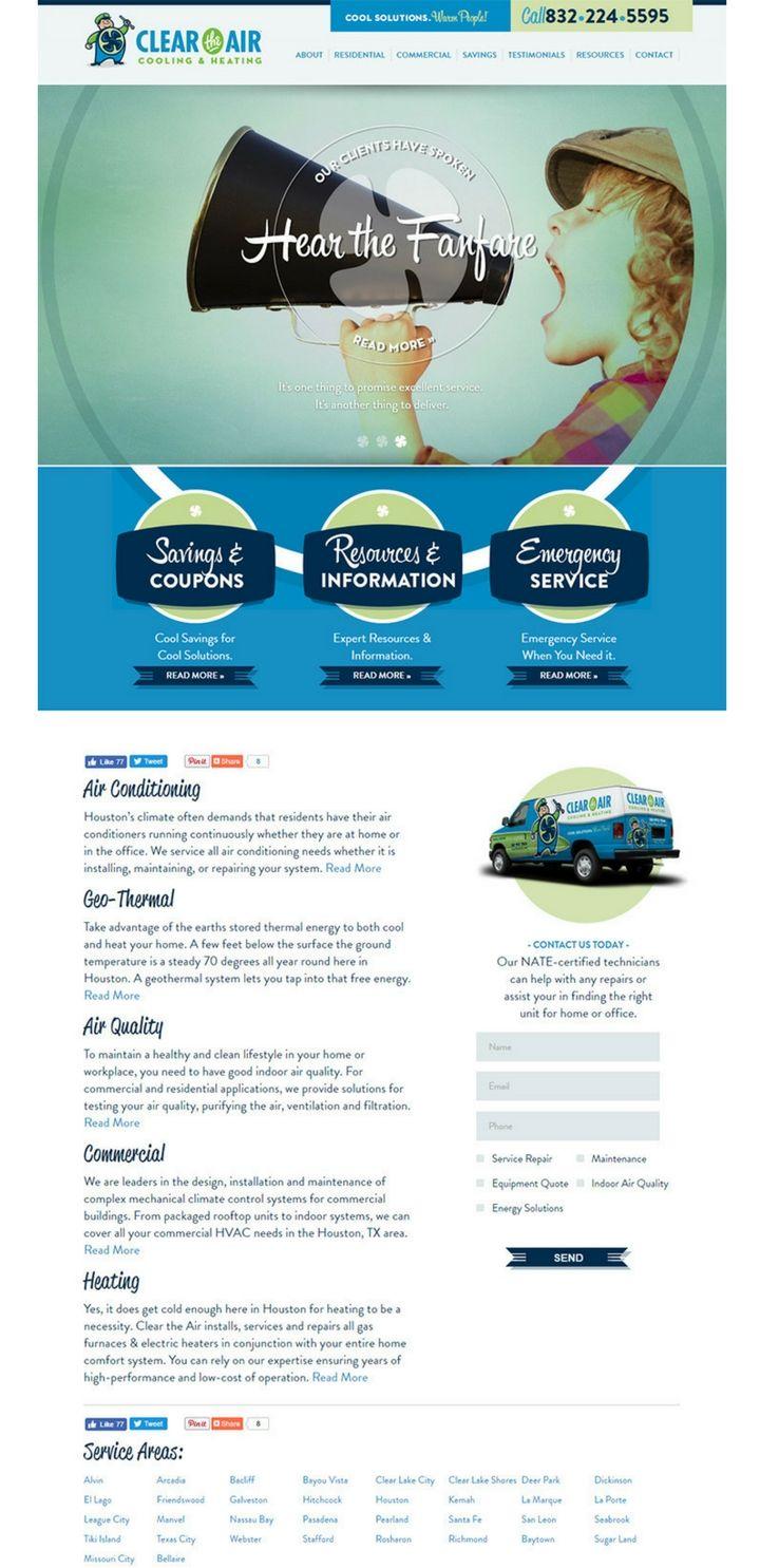 Top More Then 100 Plumbing Websites For Design Inspiration Heating Services Commercial Heating Website Design
