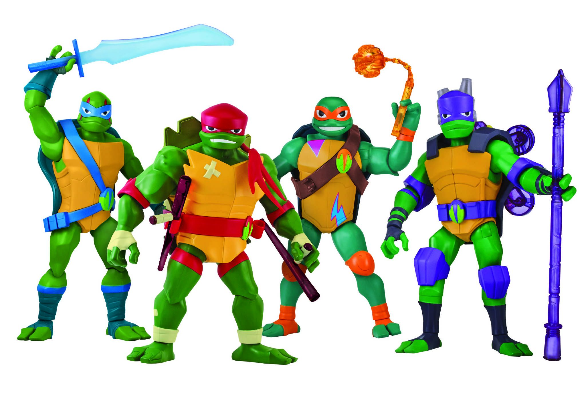 Teenage Mutant Ninja Turtles Toys Debut ...