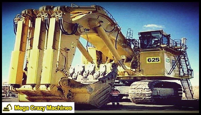 Are You Scared Mega Crazy Machines Cat Volvo Kawasaki Heavy Equipment Earth Moving Equipment Heavy Construction Equipment