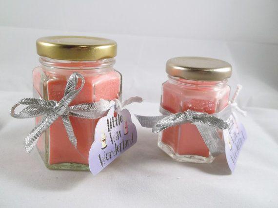Fruity Cherry Bakewell Tart Scented Eco by LittleWaxWonderland
