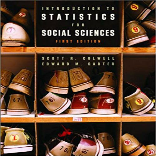 Introduction to Statistics for Social Sciences Canadian 1st Edition
