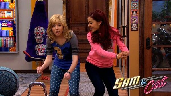 Jennette Mccurdy Ariana Grande On Sam Cat Show