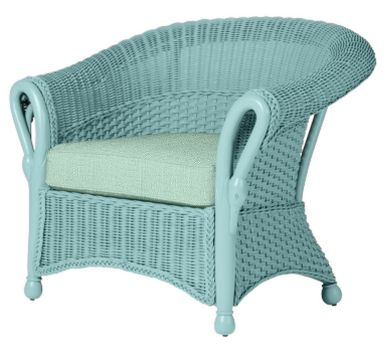 Wicker By Maine Cottage Swan Pond Chair Wickerfurniture