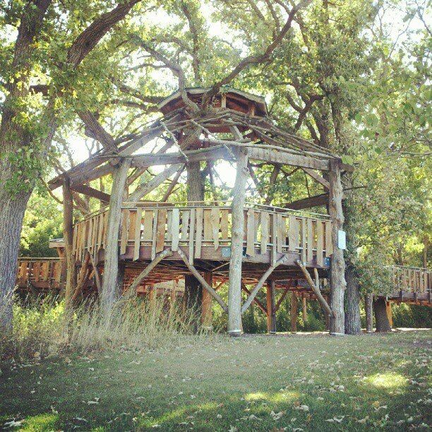 Treehouse Masters Treehouse Point: Cuba Marsh Forest Preserve. Deer Park/Barrington, IL