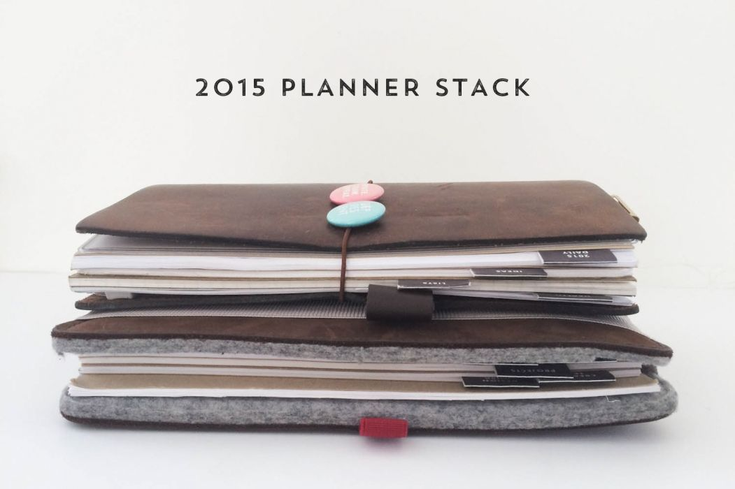 2015 Planner Stack // Hello Forever Paper Co.