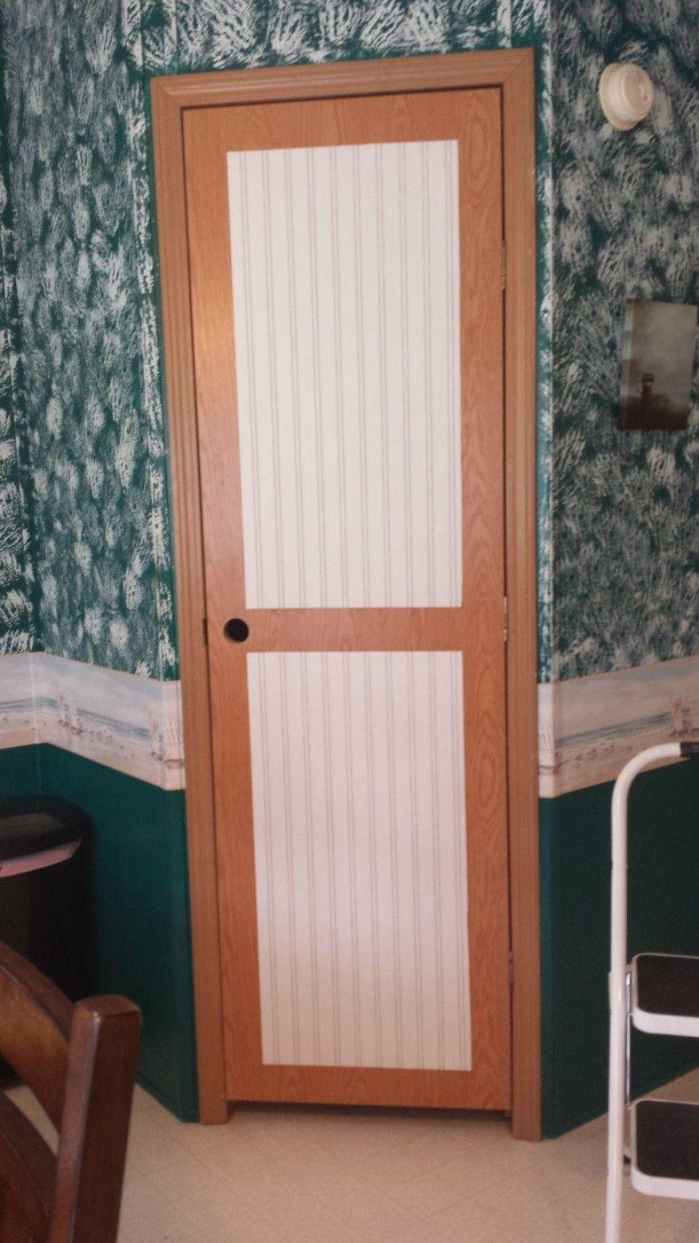 Mobile Home Interior Door Makeover Mobile Home Living Mobile Home Doors Doors Interior Mobile Home Decorating