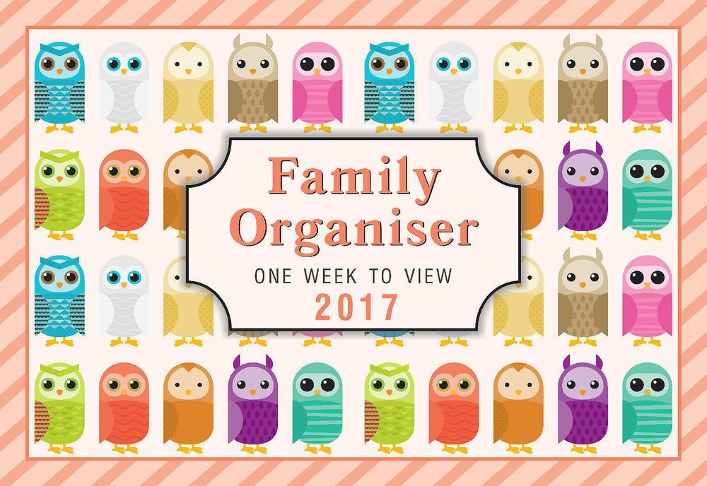 family organiser calendar 2017 moms wall hanging weekly on wall of moms id=83323