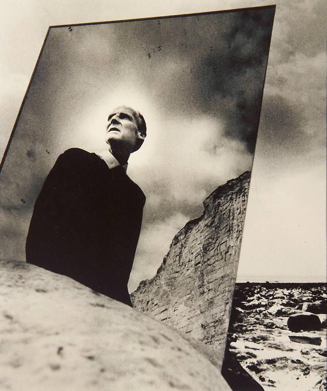 Bill Brandt: Self-Portrait with Mirror, East Sussex Coast, 1966.