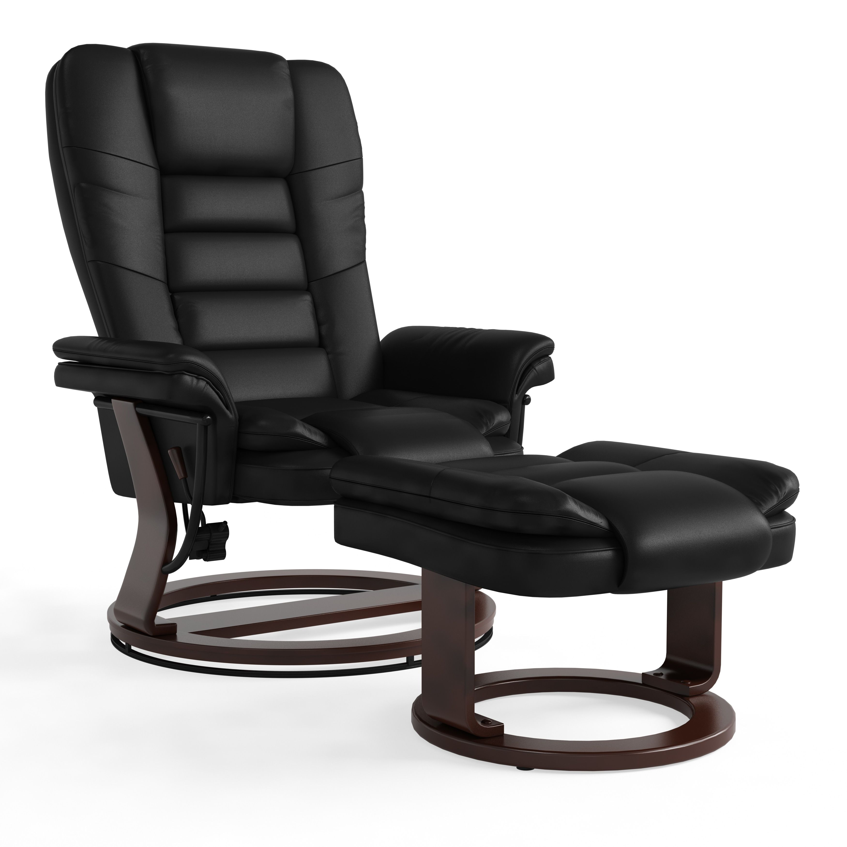 Astounding Copper Grove Gunnison Contemporary Leather Recliner And Dailytribune Chair Design For Home Dailytribuneorg