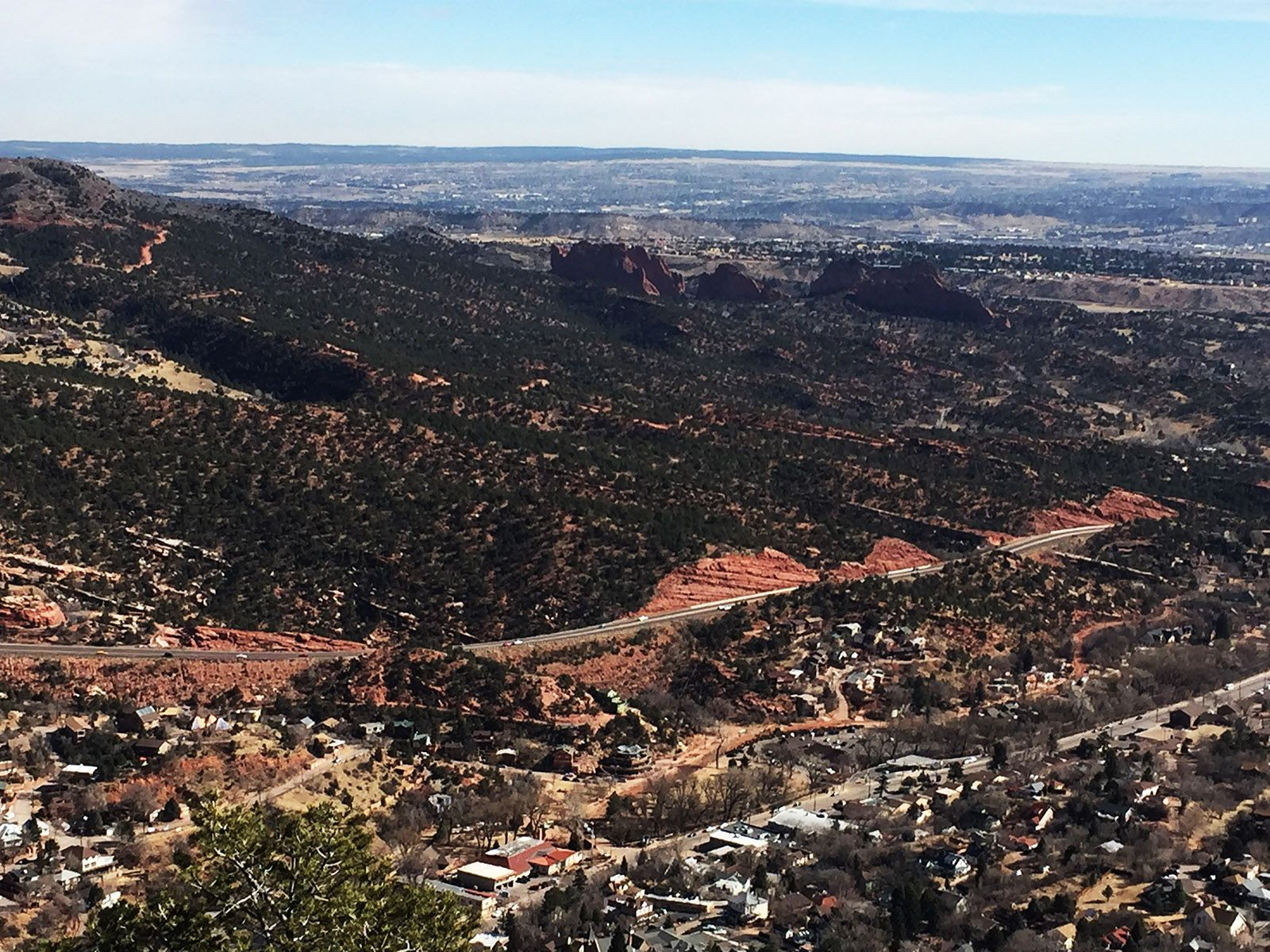 Hike Red Mountain Trail in Manitou Springs, Colorado #manitousprings