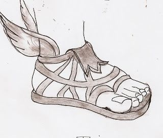 cf12b803a566 Talaria are winged sandals