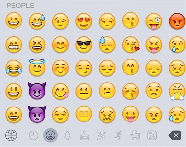 Macrumors Com On Twitter Emoji Keyboard Secret Emoji Emoji