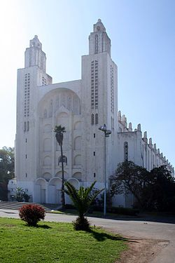 Antigua iglesia de Sagrado Corazón en Casablanca