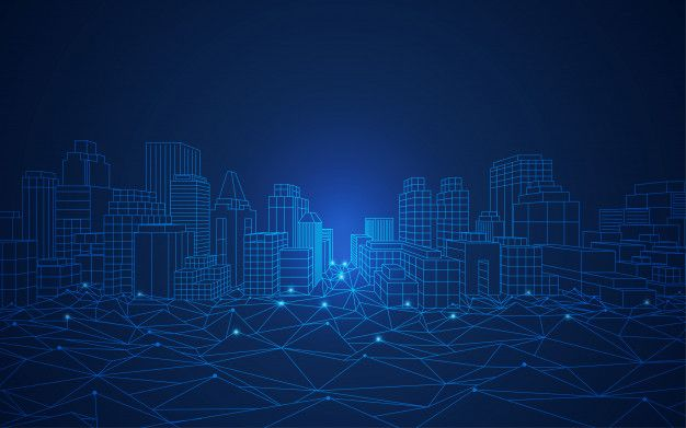 Smart City Concepts Smart City Technology Posters City