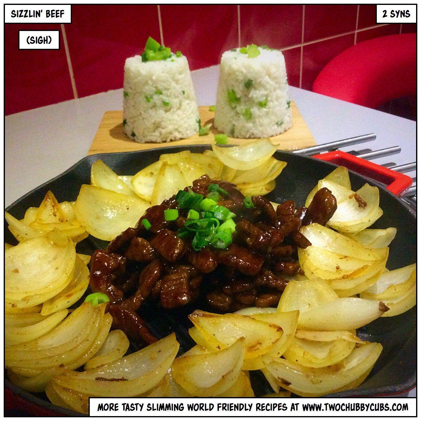 low syn sizzlin' steak   Recipes, Sizzler recipes, Sizzle ...