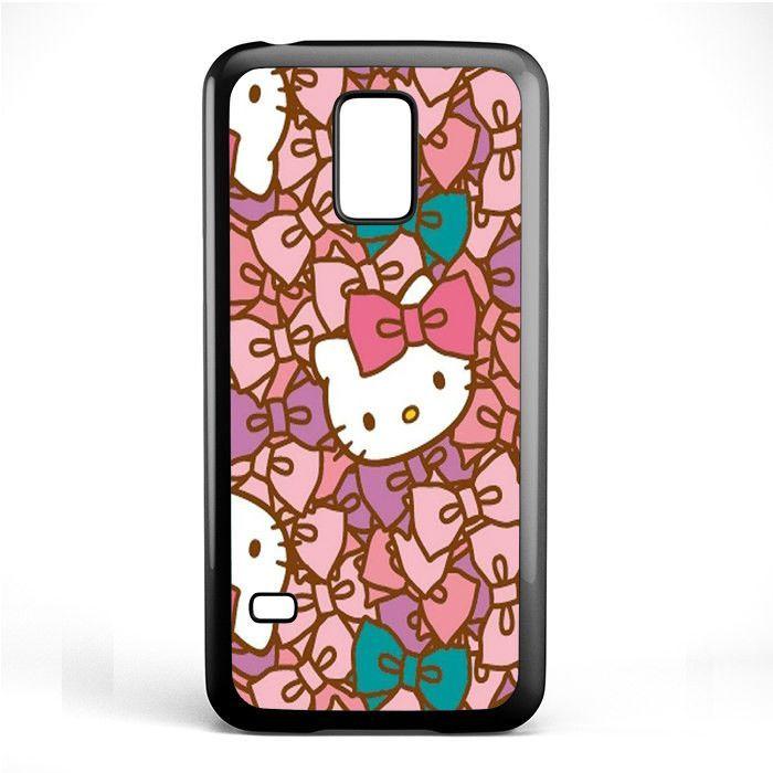 Cute Hello Kitty Tatum 2924 Samsung Phonecase Cover Samsung Galaxy S3 Mini Galaxy S4 Mini Galaxy S5 Mini Galaxy S4 Mini Galaxy S5 Samsung Galaxy S3