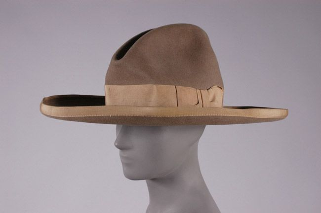 Man S Ranch Hat Usa Ca 1930 S Label Miller Brothers Hat Co Inc New York Materials Wool Felt Silk And Cotton Grosgrai Cowboy Hats Hats Large Hats