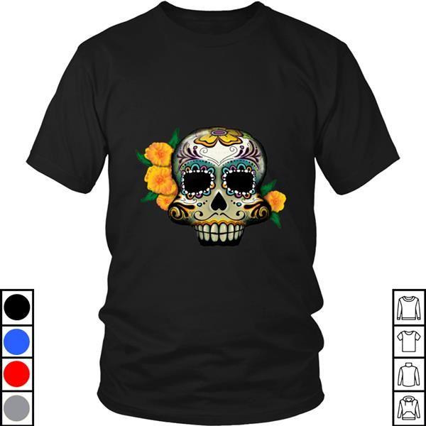 Teeecho Mexican Culture Dia De Los Muertos Day Of The Dead Skull T-Shirt, Sweatshirt, Hoodie for Men & Women