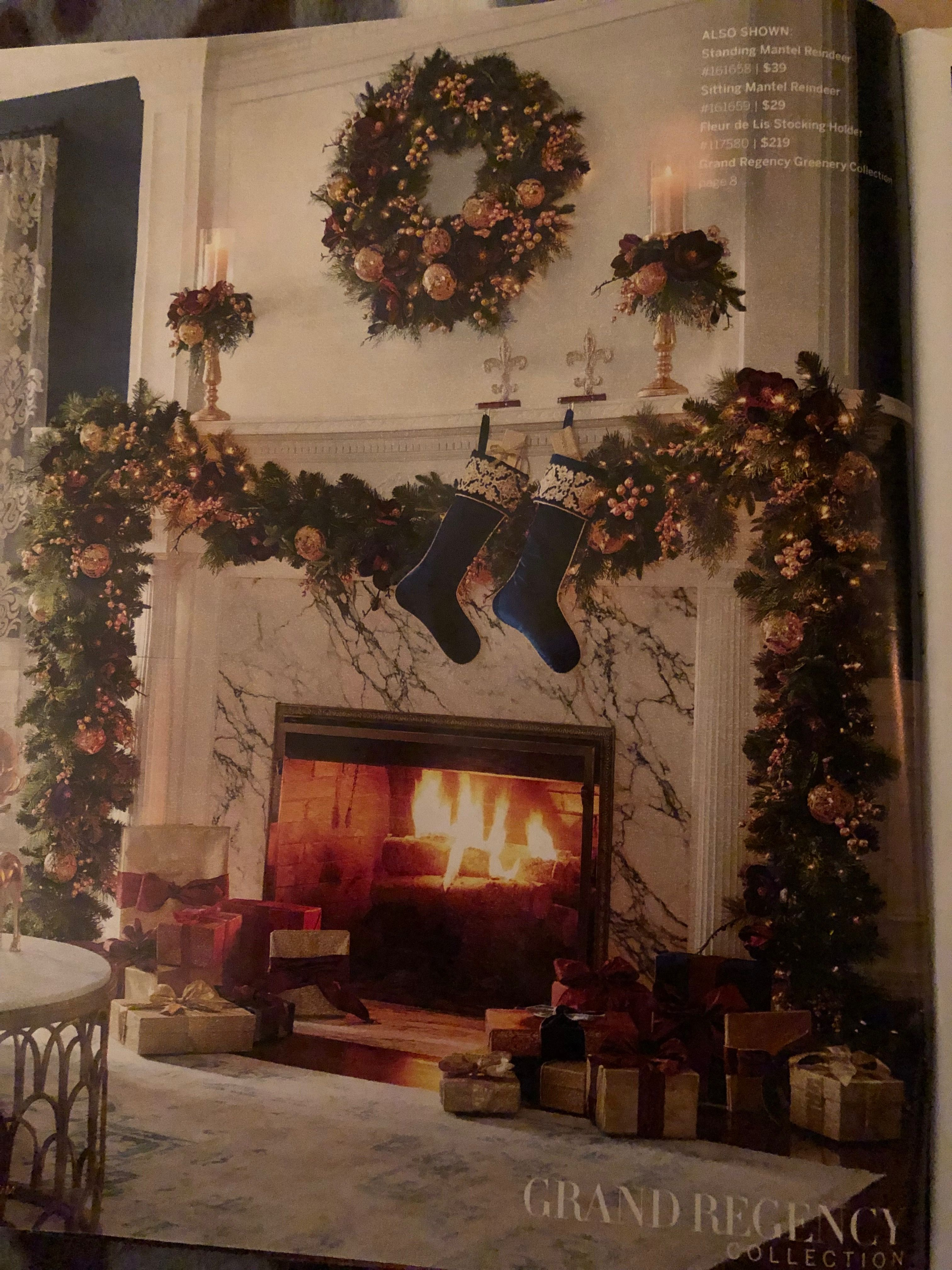 Seen in Frontgate catalog December 2018   Decor, Christmas ...