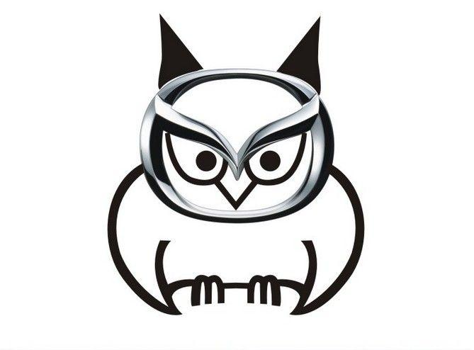 Mazda Owl Logo